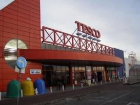Grudniowa zbiórka PCK w Tesco